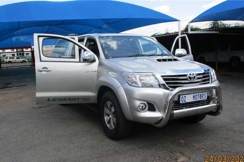 2012 Toyota Hilux 3.0D 4D double cab Raider Legend 45