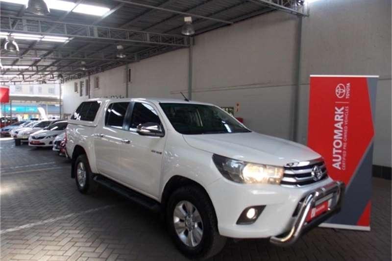 2017 Toyota Hilux 2.8GD 6 double cab Raider