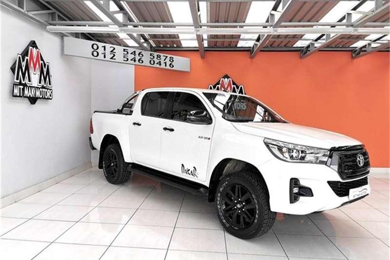 2018 Toyota Hilux 2.8GD 6 double cab Raider auto
