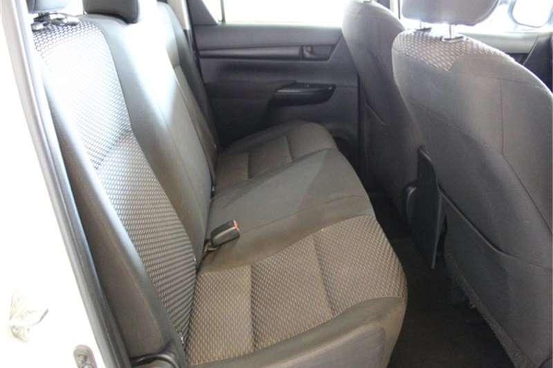 2017 Toyota Hilux 2.4GD 6 double cab SRX