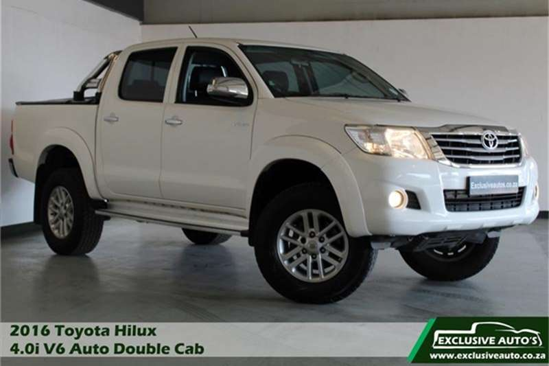 2016 Toyota Hilux 4.0 V6 double cab Raider