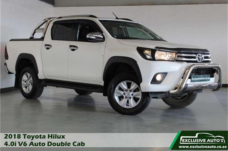 2018 Toyota Hilux 4.0 V6 double cab Raider