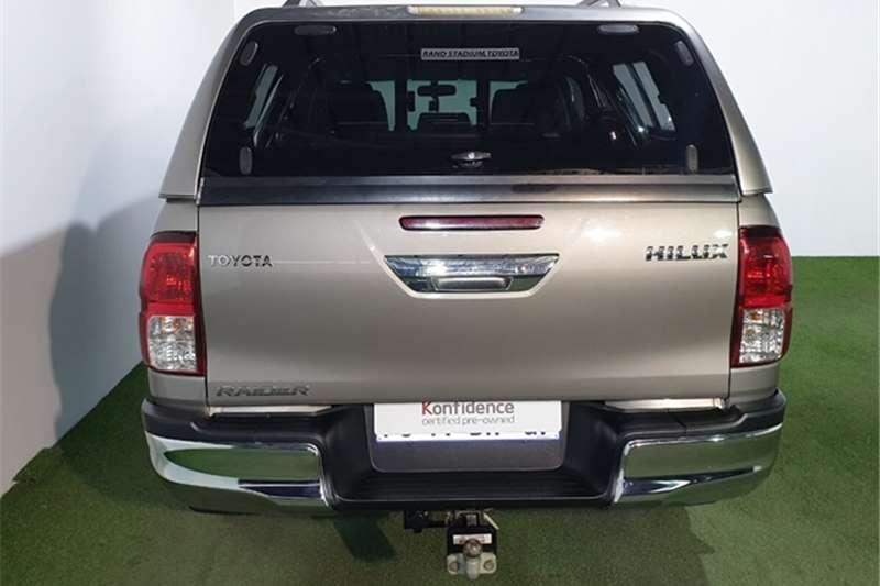 2017 Toyota Hilux 2.8GD 6 double cab Raider auto