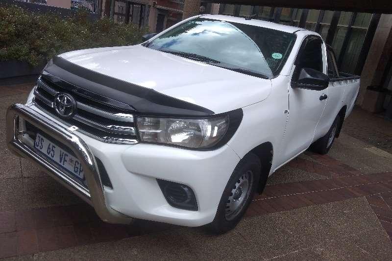 2016 Toyota Hilux 2.4GD 6 4x4 SR
