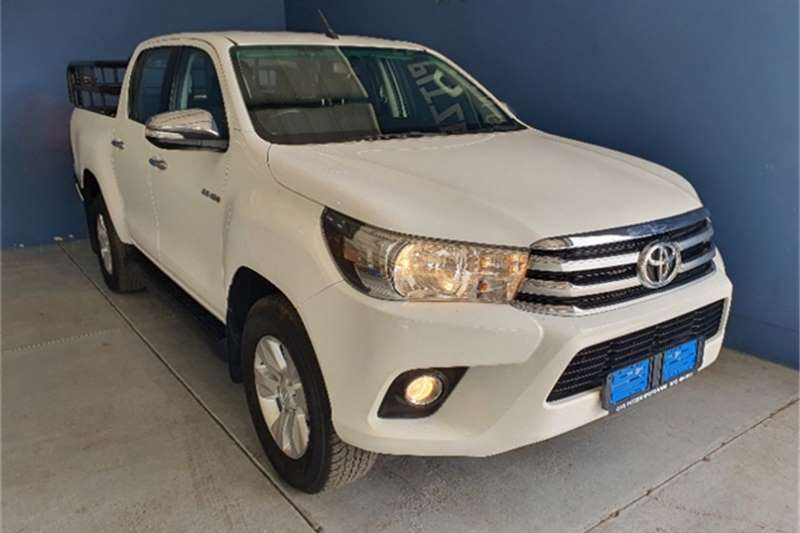 2017 Toyota Hilux 2.8GD 6 double cab Raider