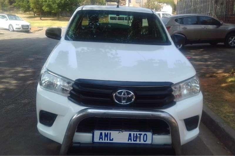 2016 Toyota Hilux single cab
