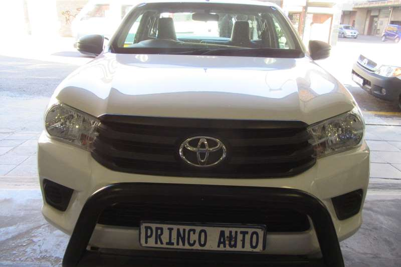 Toyota Hilux Single Cab 2.4 2017