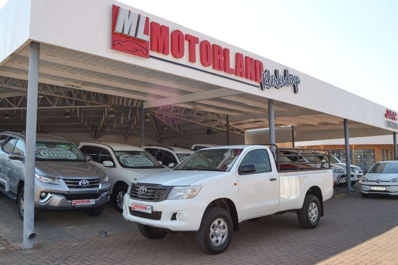 2015 Toyota Hilux single cab