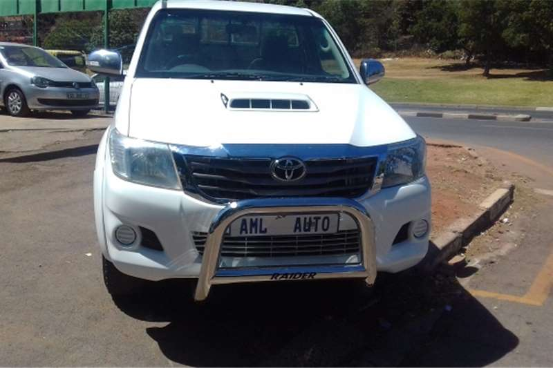 Toyota Hilux Single Cab 2.5 d4d 2013