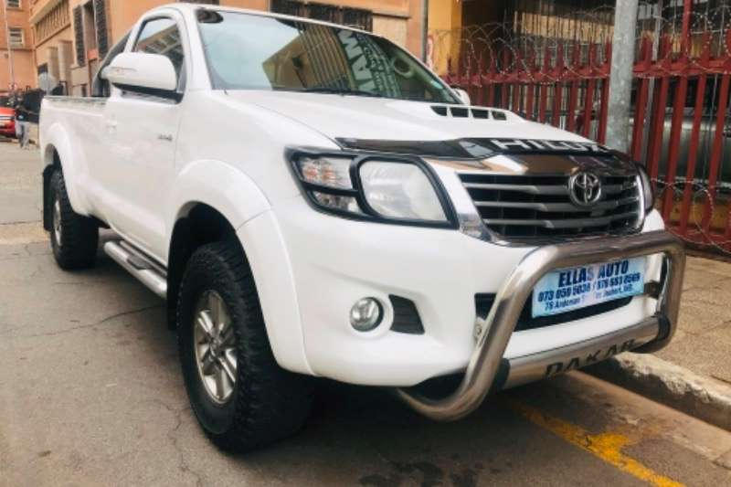 Toyota Hilux Single Cab 2014