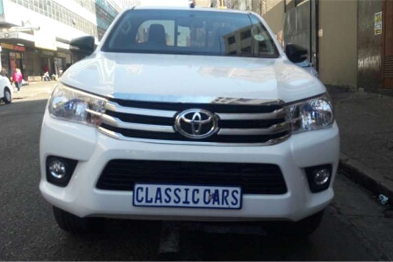 Toyota Hilux Single Cab 2017