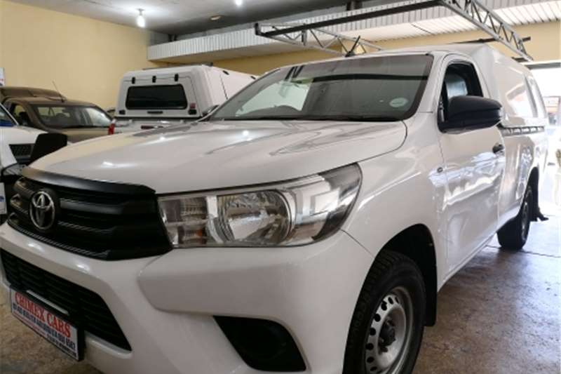 Used 2017 Toyota Hilux Single Cab