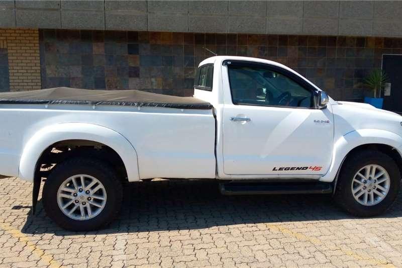 2012 Toyota Hilux single cab