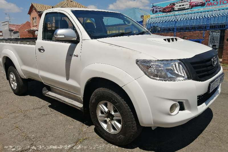 Toyota Hilux Single Cab 3.0 D4D 2012