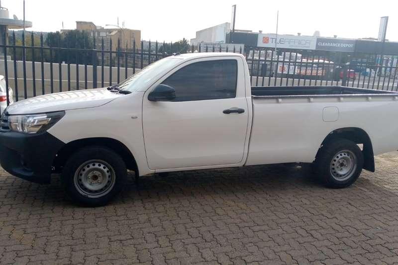 2018 Toyota Hilux single cab