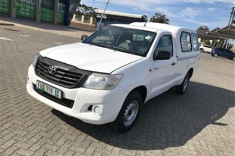 Toyota Hilux Single Cab HILUX 2.0 VVTi A/C P/U S/C 2013