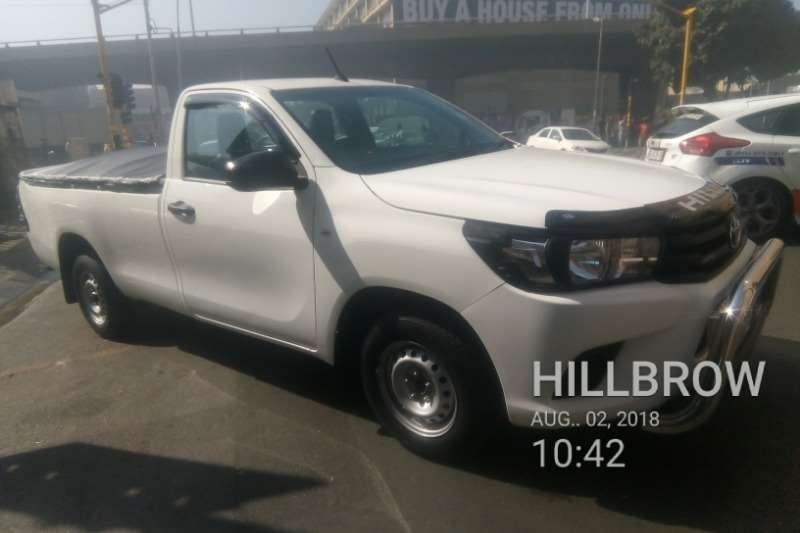 Toyota Hilux Single Cab HILUX 2.0 VVTi A/C P/U S/C 2017