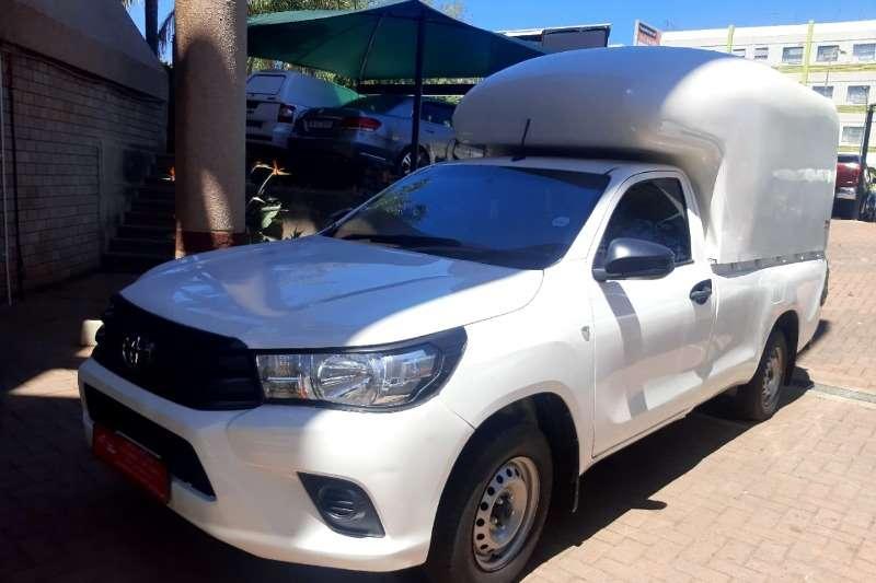 Used 2017 Toyota Hilux Single Cab HILUX 2.0 VVTi A/C P/U S/C