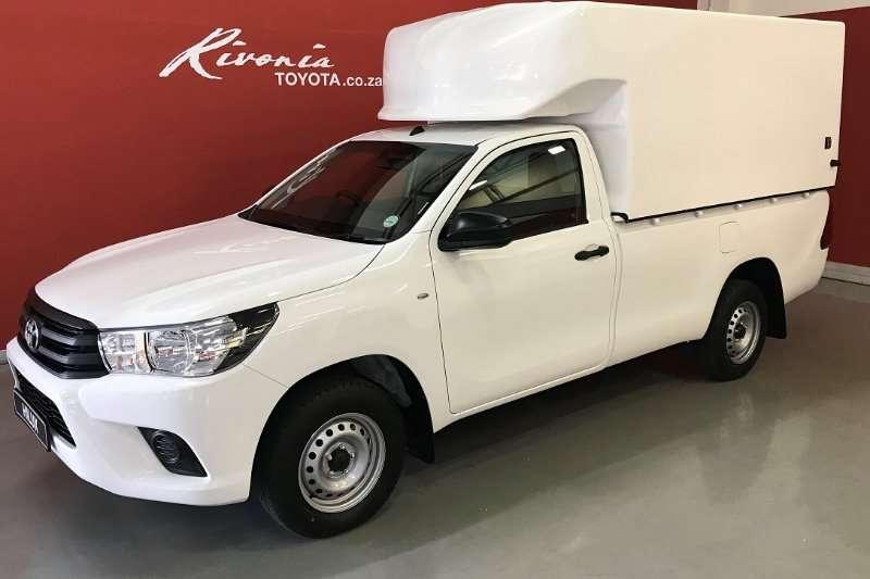 Toyota Hilux Single Cab HILUX 2.0 VVTi A/C P/U S/C 2018