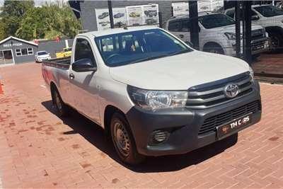 Used 2018 Toyota Hilux Single Cab HILUX 2.0 VVTi A/C P/U S/C