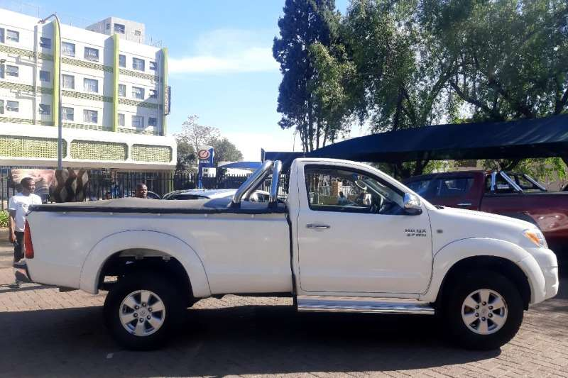 Used 2010 Toyota Hilux Single Cab HILUX 2.0 VVTi P/U S/C