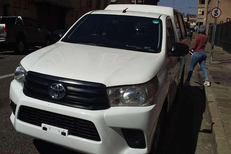 Used 2017 Toyota Hilux Single Cab HILUX 2.0 VVTi P/U S/C