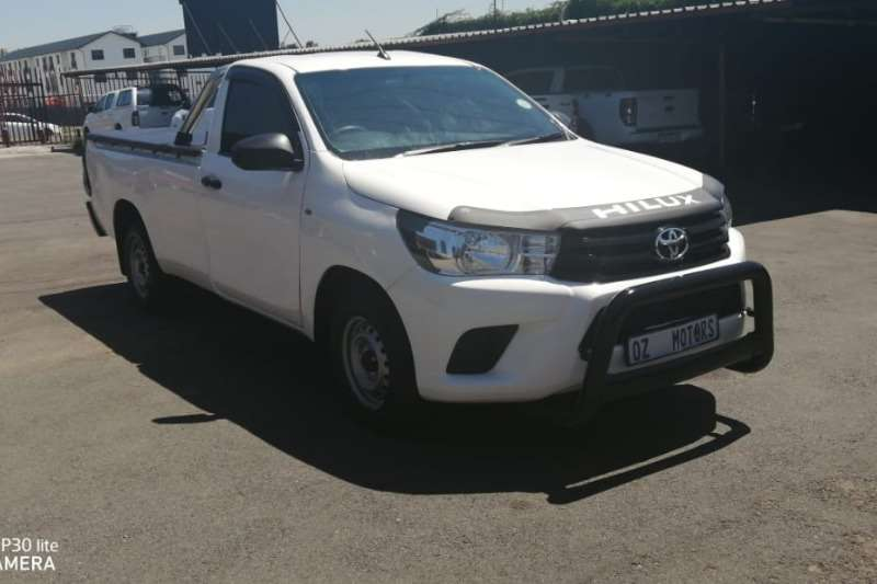 Toyota Hilux Single Cab HILUX 2.0 VVTi P/U S/C 2018