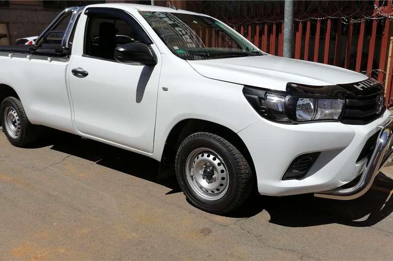 2018 Toyota Hilux single cab HILUX 2.0 VVTi P/U S/C