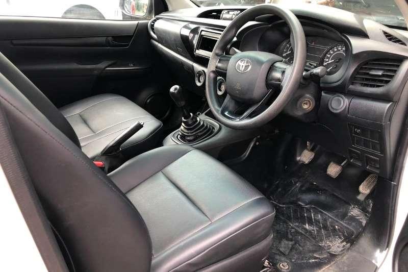 Toyota Hilux Single Cab HILUX 2.4 GD 6 RB RAIDER A/T P/U S/C 2017