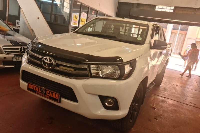 2017 Toyota Hilux single cab HILUX 2.4 GD-6 RB RAIDER A/T P/U S/C