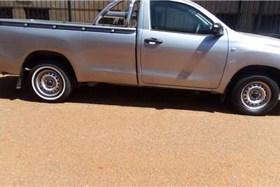 2017 Toyota Hilux single cab HILUX 2.4 GD-6 RB RAIDER P/U S/C