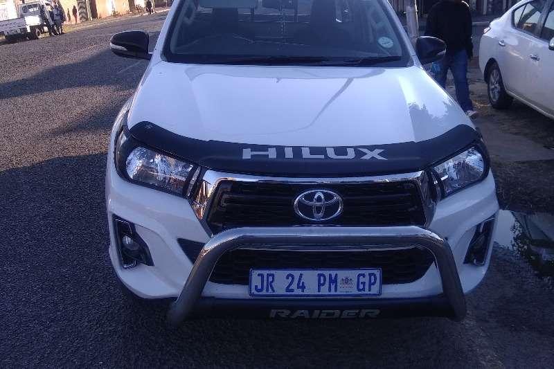 2018 Toyota Hilux single cab HILUX 2.4 GD-6 RB RAIDER P/U S/C