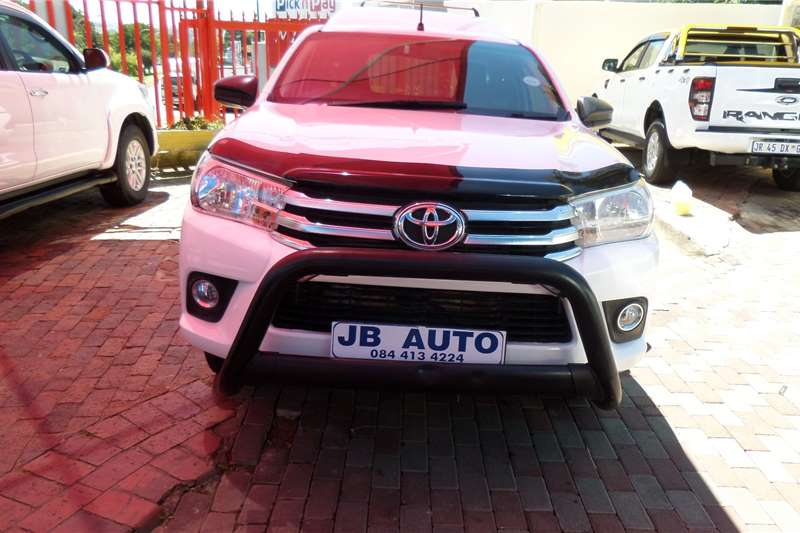 Toyota Hilux Single Cab HILUX 2.4 GD 6 RB SR P/U S/C 2019