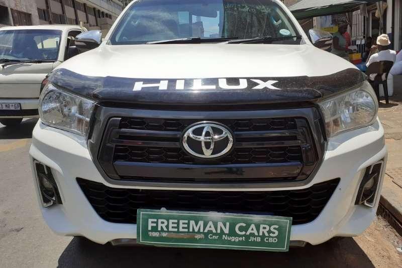 Toyota Hilux Single Cab HILUX 2.4 GD 6 RB SRX A/T P/U S/C 2017