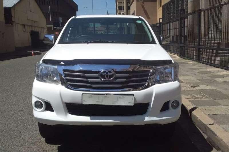 Toyota Hilux Single Cab HILUX 2.4 GD 6 RB SRX P/U S/C 2013