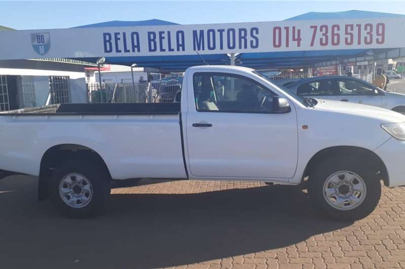 Used 2015 Toyota Hilux Single Cab HILUX 2.4 GD 6 RB SRX P/U S/C