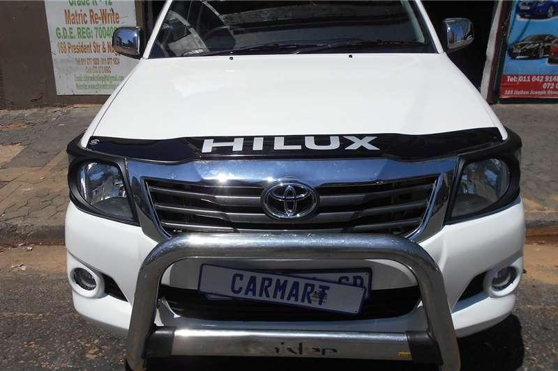 Toyota Hilux Single Cab HILUX 2.4 GD 6 RB SRX P/U S/C 2016