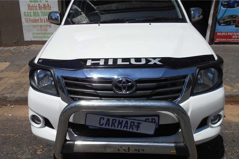 Used 2016 Toyota Hilux Single Cab HILUX 2.4 GD 6 RB SRX P/U S/C