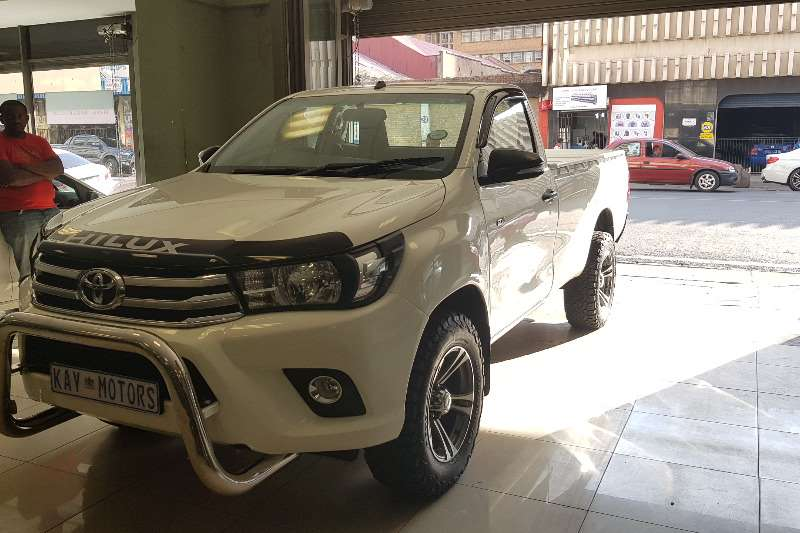Toyota Hilux Single Cab HILUX 2.4 GD 6 RB SRX P/U S/C 2017