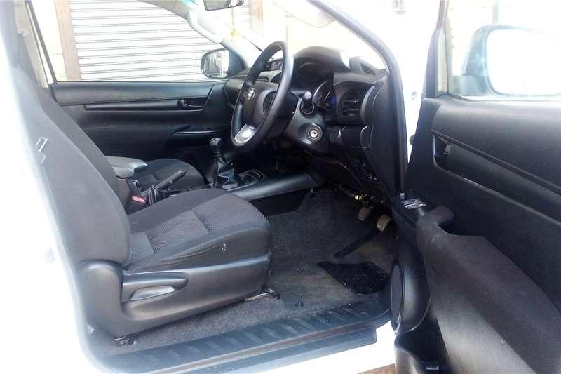 2017 Toyota Hilux single cab HILUX 2.4 GD-6 RB SRX P/U S/C