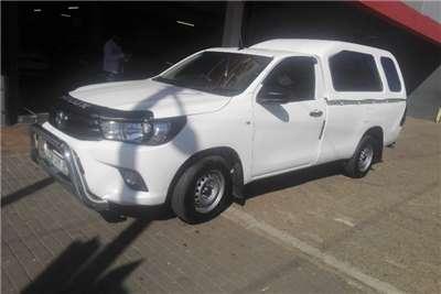 Toyota Hilux Single Cab HILUX 2.4 GD 6 RB SRX P/U S/C 2018