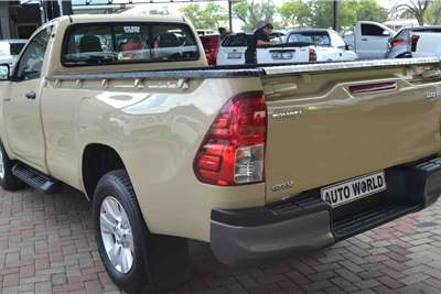 Toyota Hilux Single Cab HILUX 2.4 GD 6 RB SRX P/U S/C 2018
