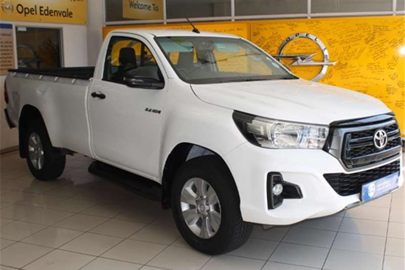Toyota Hilux Single Cab HILUX 2.4 GD 6 RB SRX P/U S/C 2019