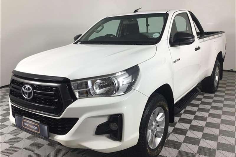 Toyota Hilux Single Cab HILUX 2.4 GD 6 RB SRX P/U S/C 2019