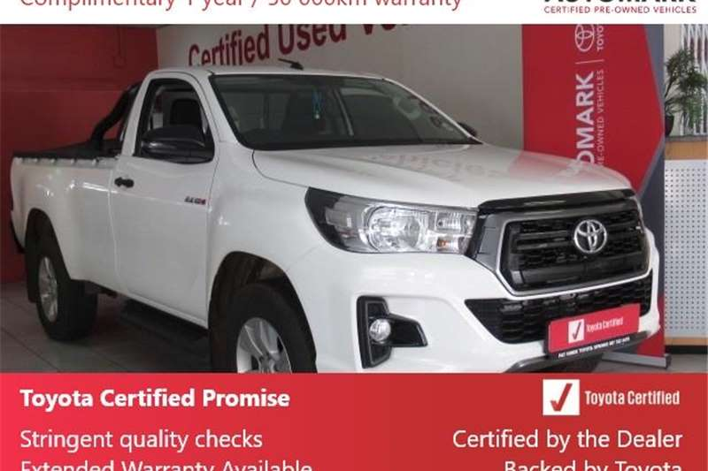 Toyota Hilux Single Cab HILUX 2.4 GD 6 RB SRX P/U S/C 2020