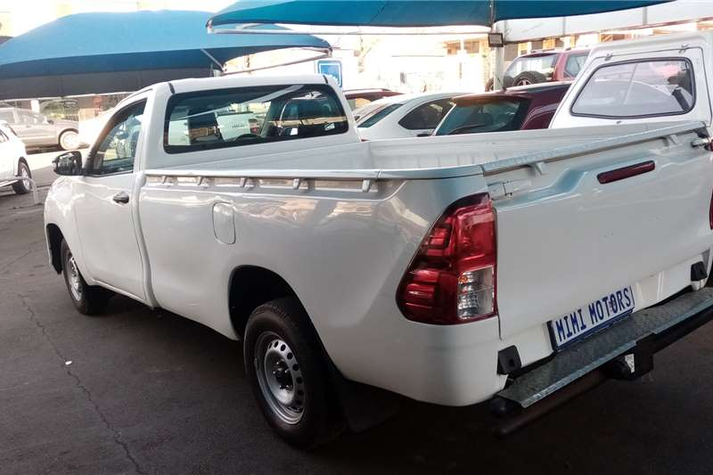 Used 2020 Toyota Hilux Single Cab HILUX 2.4 GD 6 RB SRX P/U S/C