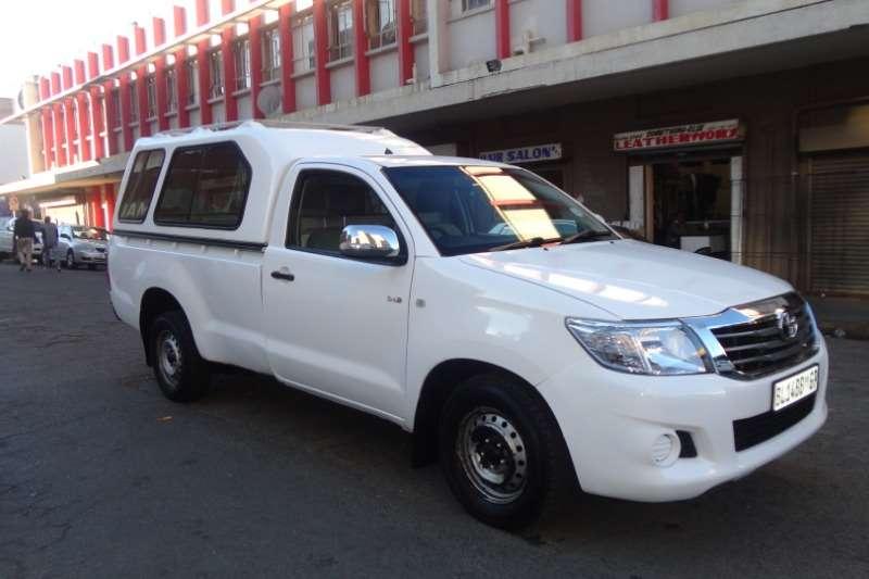 Toyota Hilux Single Cab HILUX 2.4 GD 6 SR 4X4 P/U S/C 2011
