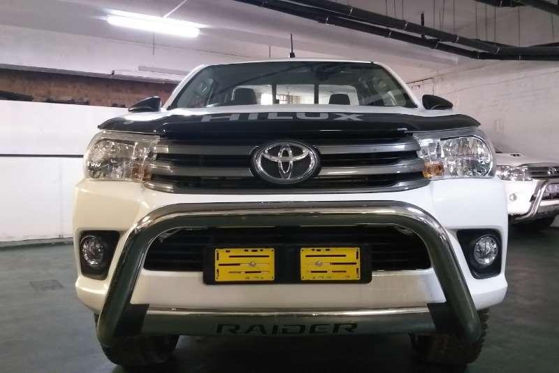 Toyota Hilux Single Cab HILUX 2.4 GD 6 SR 4X4 P/U S/C 2016