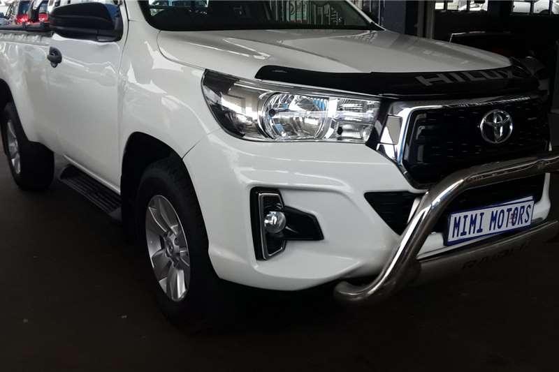 Used 2018 Toyota Hilux Single Cab HILUX 2.4 GD 6 SR 4X4 P/U S/C