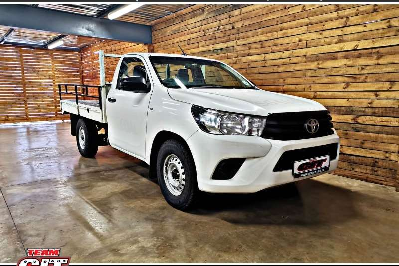 Toyota Hilux Single Cab HILUX 2.4 GD 6 SR P/U S/C 2017